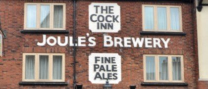 The Cock Inn, Joules Brewery