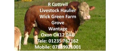 R Cottrell Livestock Haulier