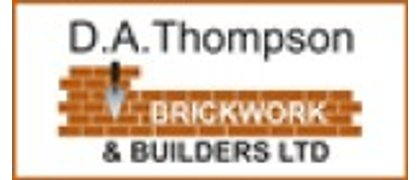 D A Thompson Brickwork & Builders