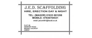 J.E.D. Scaffolding