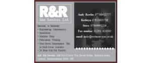 R&R Site Services Ltd.