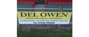 Del Owen Powysland Garage