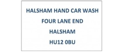Halsham Hand Car Wash