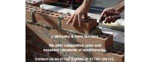 J Melladay & Sons Builders