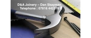 D & A Joinery Ltd - Dan Skayman