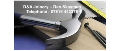 D & A Joinery Ltd - Dan Skayman