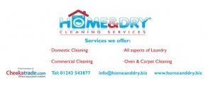 Home and Dry Cleaning Services