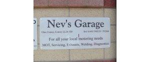 NEV'S GARAGE