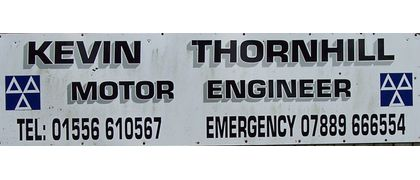 Kevin Thornhill Motor Engineer