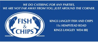 Kings Langley Fish and Chip Shop