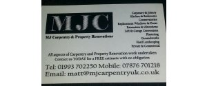 MJ Carpentry & Property Renovations