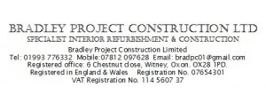 Bradley Project Construction Ltd