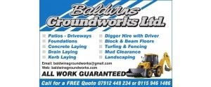 Baldwins Groundworks Ltd