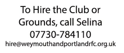 Clubhouse & Pitch Hire