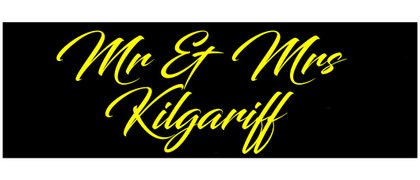Mr & Mrs Kilgariff