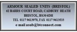Armour Sealed Units (Bristol) Ltd