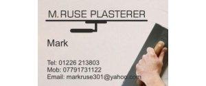 Mark Ruse Plasterer