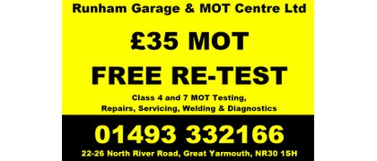 RUNHAM GARAGE AND MOT CENTRE