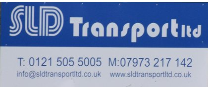 Silver Sponsor  SLD Transport Ltd