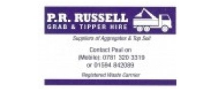 P.R.Russell - Grab/Tipper Hire