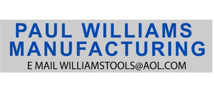 Paul Williams Manufacturing