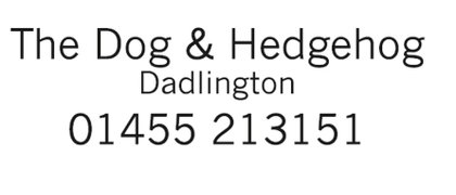 Dog & Hedgehog, Dadlington