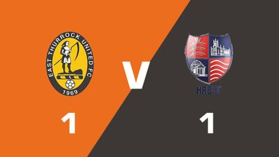 East Thurrock United vs Hampton & Richmond Borough Match Highlights  (Sat 5th August 2017)