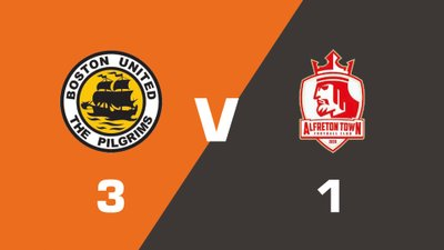 Boston United vs Alfreton Town Match Highlights  (Tue 8th August 2017)