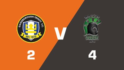 Highlights: Gainsborough Trinity vs Blyth Spartans