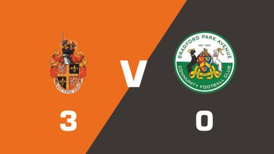 Spennymoor Town vs Bradford Park Avenue Match Highlights  (Tue 15th August 2017)