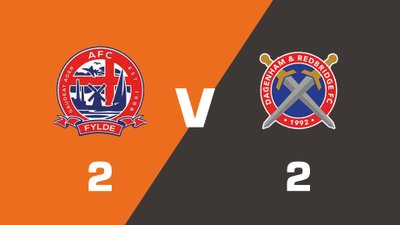 AFC Fylde vs Dagenham and Redbridge Match Highlights  (Sat 19th August 2017)