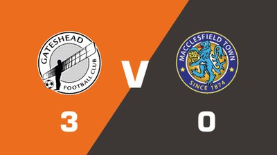 Gateshead vs Macclesfield Town Match Highlights  (Sat 19th August 2017)