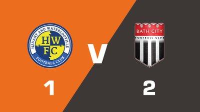 Havant & Waterlooville vs Bath City Match Highlights  (Sat 19th August 2017)