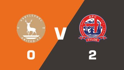Highlights: Hartlepool United vs AFC Fylde
