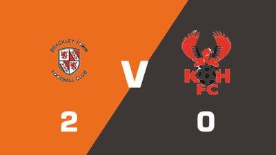 Highlights: Brackley Town vs Kidderminster Harriers