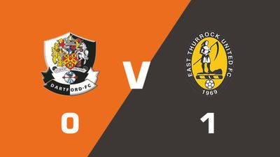 Highlights: Dartford vs East Thurrock United