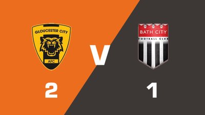 Highlights: Gloucester City vs Bath City