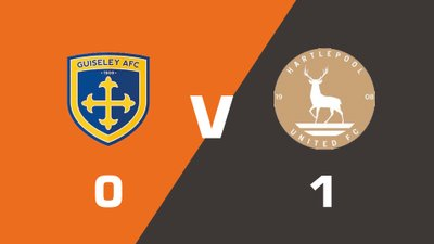 Highlights: Guiseley vs Hartlepool United