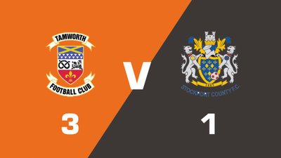 Highlights: Tamworth vs Stockport County