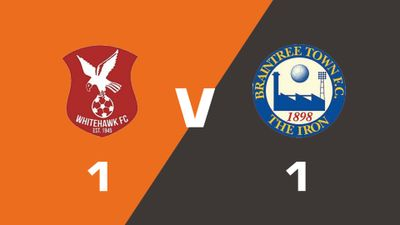 Highlights: Whitehawk vs Braintree Town
