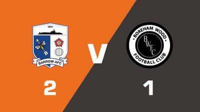 Highlights: Barrow vs Boreham Wood