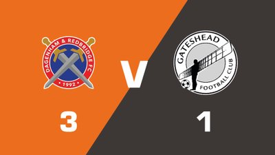 Highlights: Dagenham and Redbridge vs Gateshead