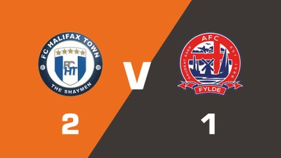 Highlights: FC Halifax Town vs AFC Fylde