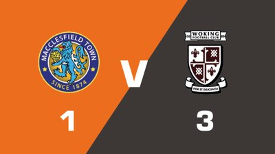 Highlights: Macclesfield Town vs Woking
