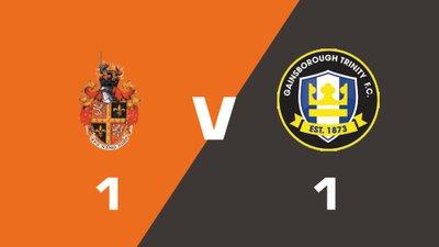 Highlights: Spennymoor Town vs Gainsborough Trinity