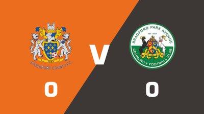 Highlights: Stockport County vs Bradford Park Avenue