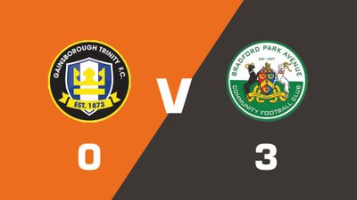 Highlights: Gainsborough Trinity vs Bradford Park Avenue