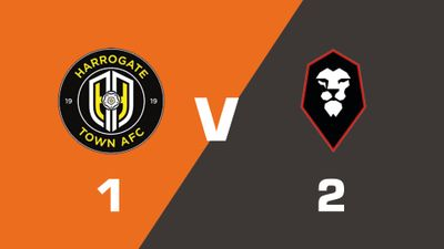 Highlights: Harrogate Town vs Salford City