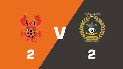 Highlights: Kidderminster Harriers vs Curzon Ashton