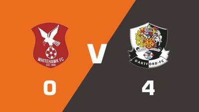Highlights: Whitehawk vs Dartford